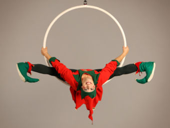 Tonttu the acrobat Christmas Elf